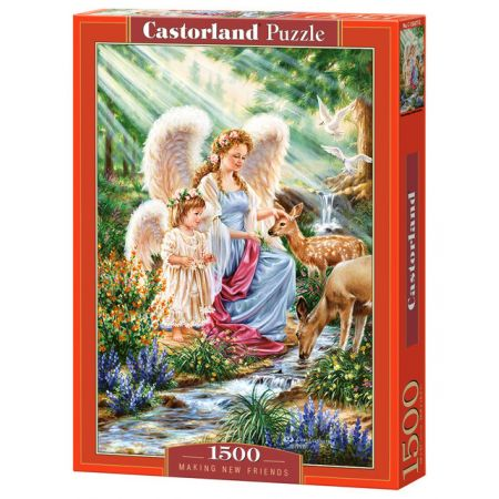 Puzzle 1500 Making new friends CASTOR
